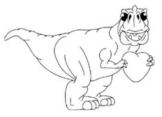 Simple T Rex Coloring Pages Kids Colouring Pages Dinosaur