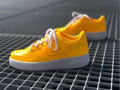 Nike AF1 Sunset Yellow