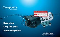 Pro high pressure pumps for aeroponics by Canaponics on Etsy