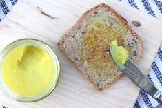 Quick and Easy Turmeric Butter #turmeric #healthy #vegan #recipe #dairyfree #sugarfree #glutenfree #plantbased
