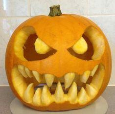 The post Carved pumpkin. & Halloween Ideen appeared first on Pumpkin carving ideas . Scary Pumpkin Carving, Scary Halloween Pumpkins, Amazing Pumpkin Carving, Food Carving, Pumpkin Art, Carving Pumpkins, Pumpkin Ideas, Holidays Halloween, Halloween Crafts