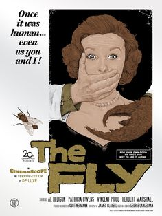 The Fly (variant), by Timothy Pittides #timothypittides #theflyprint