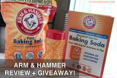 Arm & Hammer Baking Soda: Gift Pack Giveaway! Ends 6/18/13
