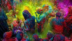 Фестиваль красок в Індії