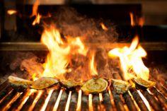 Grilled Oysters   Ariccia Italian Trattoria & Bar Menu   Photography by Heather Carson, Carson Studios #FoodPhotography