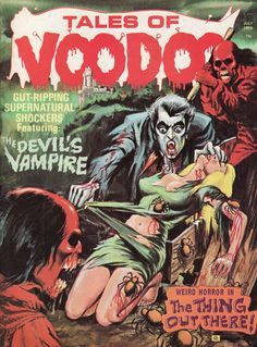 Tales of Voodoo, Eerie publications