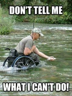"""""""Don't tell me what I can't do"""" #disability #love......this is so powerful i love this."""