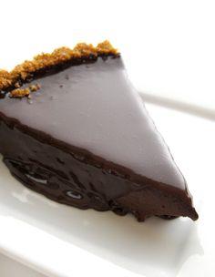 Dark Chocolate Tart! more dark chocolate, my favorite
