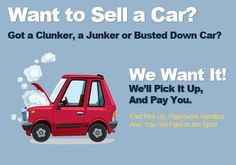 Sell Your Junk Car Instantly! Call Us! 1-888-712-2774 or Visit http://www.money4vehicle.com/