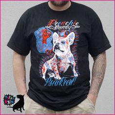 Frenchie Dandy French Bulldog t-shirt