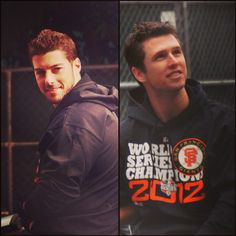 George Kontos and Buster Posey❤