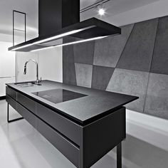 concreate beton architektonicznty salon space design CONCRETE minimal grey modern industrial design Interior design