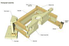 3-D Pantograph plans preview