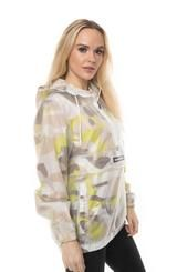 Men's Translucent Camo Print Popover Jacket for Women – Members Only® Official Members Only Jacket, Half Zip Pullover, Rain Wear, Camo Print, Vinyls, Casual Chic, Cool Kids, Hooded Jacket, Jackets For Women