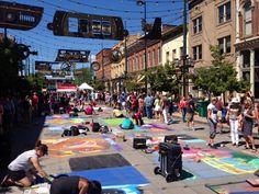 Denver's Annual Chalk Festival