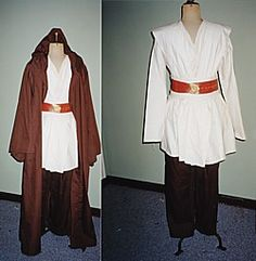 Jedi Costume Diy - http://www.ehow.com/way_5184759_homemade-jedi-knight-costume.html  I just want the legit material!!