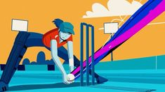 """@bbccreative shared a video on Instagram: """"We worked with @picnicstudio to launch our summer season of cricket 🏏 #bbccreative #animation #advertising #cricket #film"""" • Oct 1, 2020 at 1:19pm UTC Character Personality, Oct 1, Cricket, Bbc, Advertising, Product Launch, Seasons, Sport, Film"""