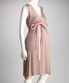 BG Pink Champagne Birthing Gown