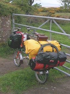 Brompton folding bike sleeping bag