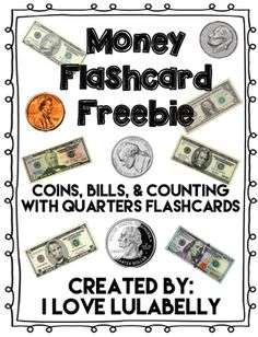 Money Flash Cards Fr