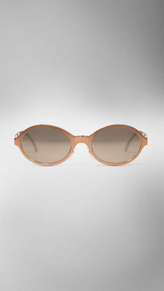 The Burberry Splash Sunglasses in a Metallic Finish