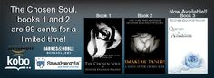 Want in on the EPIC romance that is the Chosen Soul series? Now's the time! For a limited time, the first two books are 99 cents a piece! You can own the entire series for less than the cost of a paperback book! It's time to get lost in the hotness of really bad boys and the even badder women they love.