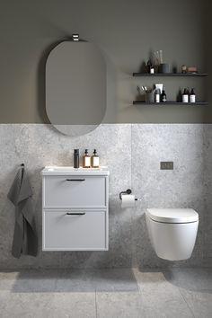 Bathroom Inspiration, Interior Inspiration, Interior Styling, Interior Design, Bathroom Spa, Bathroom Design Small, Powder Room, Interior And Exterior, New Homes