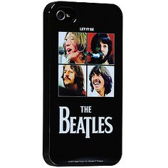 Beatles Hard Shell Case for iPhone 4 & 4S, Let It Be