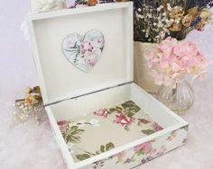 joyas caja madera abalorio caja caja de madera caja romntica decoracin del hogar regalo para su decoracin del hogar shabby chic rosa cajas de