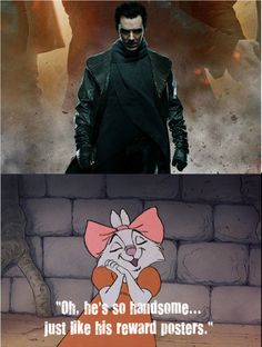This scene from Disney's Robin Hood perfectly captures my reaction of seeing Benedict play John Harrison/Khan. (Also, I'm getting better at making memes.) ^_^