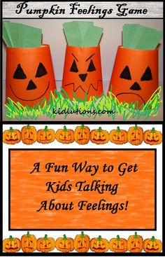 Pumpkin Feelings Game - repinned by @PediaStaff – Please Visit ht.ly/63sNt for all our ped therapy, school & special ed pins