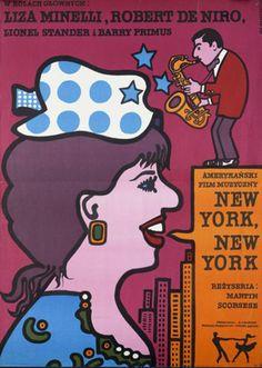 New York, New York (1977) / Polish poster by Jan Młodożeniec