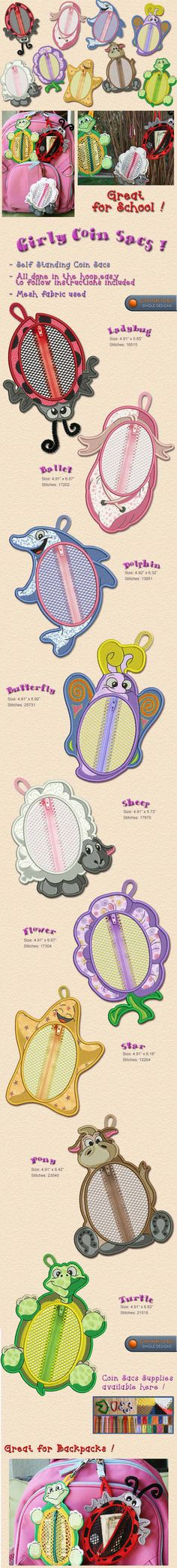 Girls,Toys, school tag, Embroidery Designs Free Embroidery Design Patterns Applique