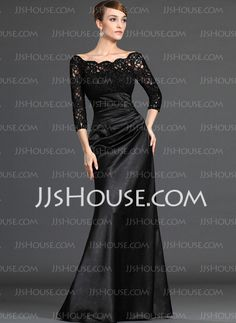 Mother of the Bride Dresses - $154.59 - A-Line/Princess Scoop Neck Floor-Length Charmeuse Mother of the Bride Dresses With Ruffle  Lace (008006037) http://jjshouse.com/A-line-Princess-Scoop-Neck-Floor-length-Charmeuse-Mother-Of-The-Bride-Dresses-With-Ruffle--Lace-008006037-g6037