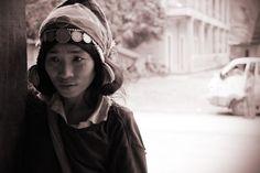 Aha Frau im Norden von Laos