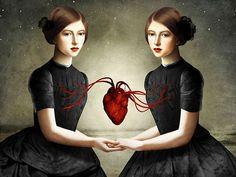 Las ilustraciones surrealistas de Christian Schloe