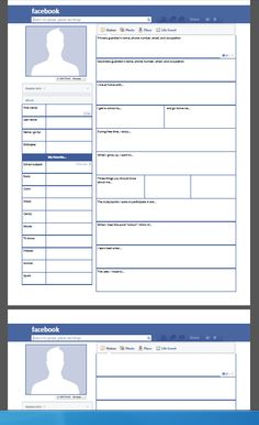 Beginning of the School Year - Facebook Ice Breaker ...FREE...allows the teacher to painlessly gather every piece of necessary information! (Can be used with ANY grade!!!)