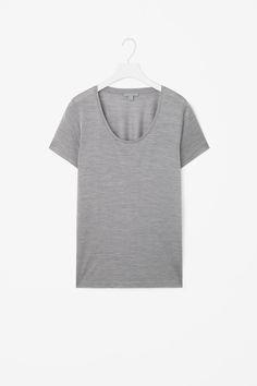 COS | Silk jersey t-shirt