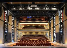 Dutch firm van Dongen-Koschuch has converted an old maritime building in the Netherlands into a theatre with a glass auditorium (+ slideshow).