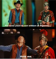 Night at the Museum: Secret of the Tomb Line from Trailer Owen Wilson as Jedediah and Steve Coogan as Octavius