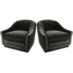 via BKLYN contessa :: velvet lounge chairs from antiques du monde
