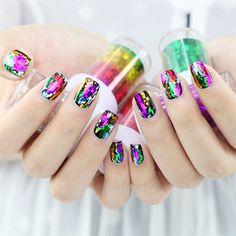 Min Nail Gel 100cm x 4cm Fashion Design Nail Art Foil Stickers Transfer Decal Tips Manicure for Women Beauty Apr26#2
