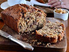 Ψωμί με φυστικοβούτυρο, σοκολάτα και μπανάνα