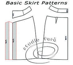 Skirt Patterns are just the beginning in our Basic Pattern Making Workshop.  Starting 24th August.  Check it out. :)