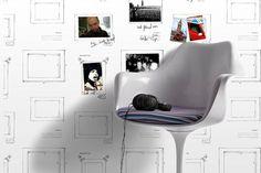 Mur de souvenirs - Papiers peints - LInternaute Bricolage