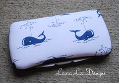 Thar She Blows Boutique Style Travel Wipe by LauraLeeDesigns108