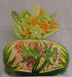 Fruit Sculptures and Garnish - Calbert Culinary Arts