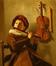 Judith Leyster : Le joueur de flûte - 1635 - Nationalmuseum, Stockolm
