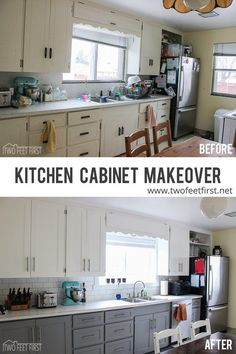 Who loves the look of the classic shaker style cabinet doors? I do, it is my favorite style of door right now. Its classic and fits almost any style of home!! A year ago we were talking about what …