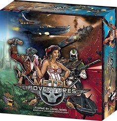 Metal Adventures Board Game >>> For more information, visit image link.